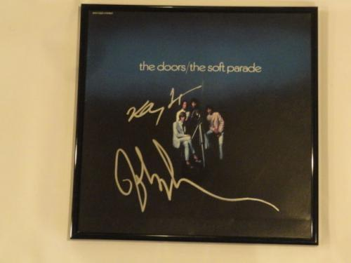 "John Densmore Robby Krieger Signed The Doors ""the Soft Parade"" Album Jsa Coa"
