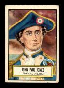 #42 John Paul Jones SP - 1952 Topps Look n See Non-Sports Cards (Star) Graded VGEX