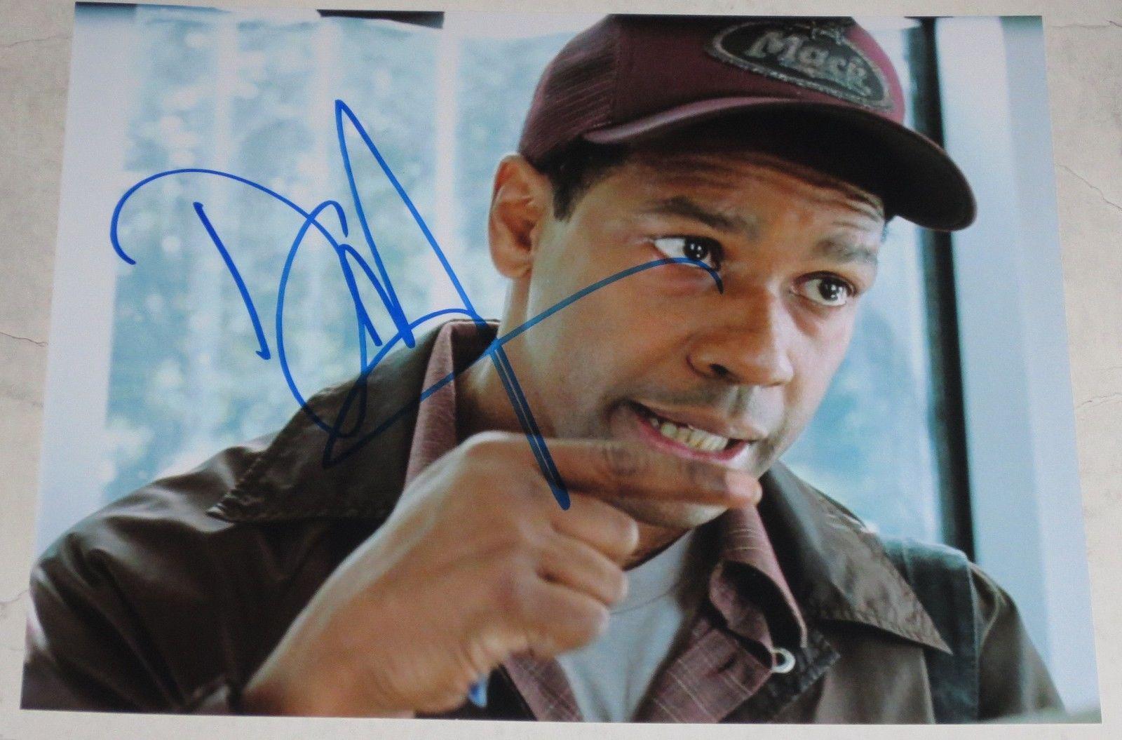 Denzel Washington Signed 8x10 Photo Autograph John Q Oscar Authentic Coa A