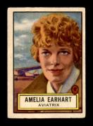 #45 Amelia Earhart SP - 1952 Topps Look n See Non-Sports Cards (Star) Graded EX