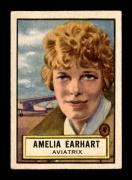 #45 Amelia Earhart SP - 1952 Topps Look n See Non-Sports Cards (Star) Graded VGEX
