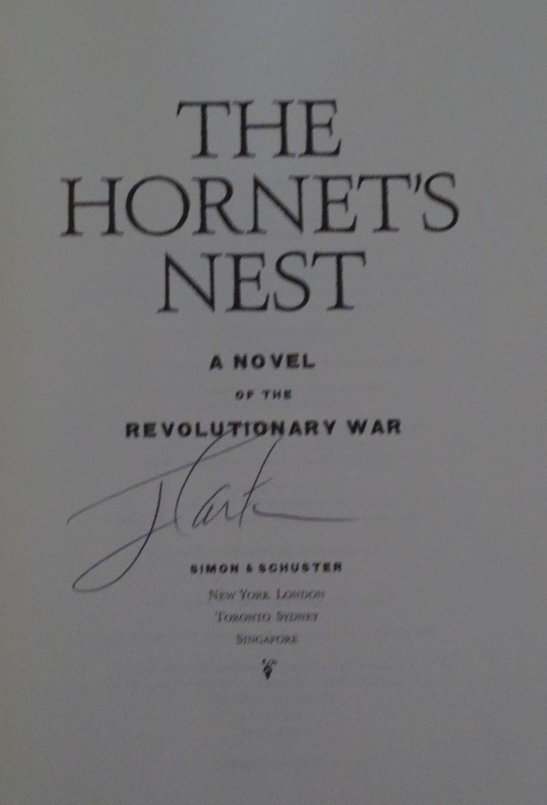 The Hornet's Nest Jimmy Carter Signed Book Usa President In-person Autograph Coa