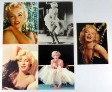 (5) 2002 MARILYN MONROE 8x10 Giant Postcard - 5 Different Styles