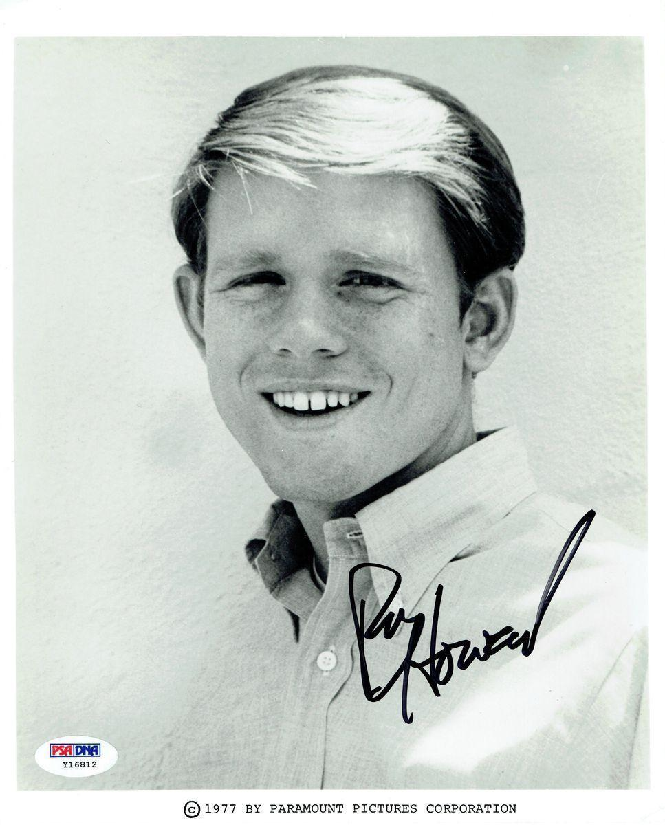 Ron Howard Signed Happy Days Authentic Autographed 8x10 Photo PSA/DNA #Y16812