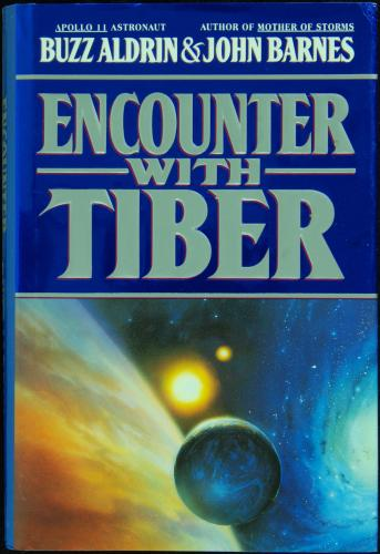 "Buzz Aldrin Signed ""Encounter With Tiber"" Book (PSA/DNA)"