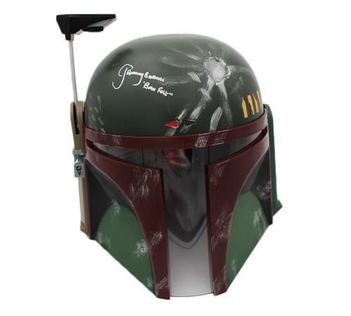 Jeremy Bulloch Signed Star Wars Deluxe Edition Boba Fett Mask