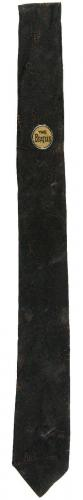 """SCARCE 1964 Beatles Necktie Measures 53""""Long with Drumhead Image & Facsimile Sig"""