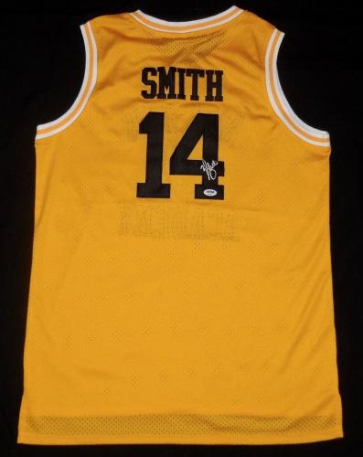 Will Smith Autographed Bel-air Basketball Jersey (fresh Prince) - Psa Dna!