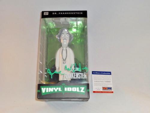 Gene Wilder Signed Young Frankenstein Funko Vinyl Idolz Figure Psa/dna