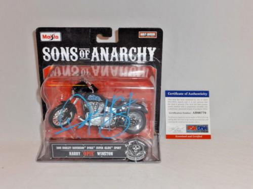 Ryan Hurst Signed Maisto Sons Of Anarchy Harley Davidson Motorcycle Psa/dna 2