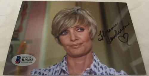 Florence Henderson Hand Signed The Brady Bunch Mom 4x6 Photo BAS COA E