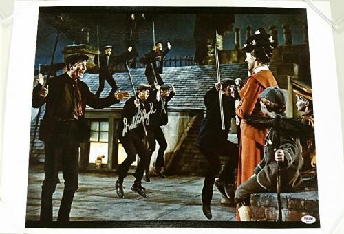 DICK VAN DYKE Signed Mary Poppins 16x20 Canvas Photo #3 BERT Auto~ PSA/DNA COA