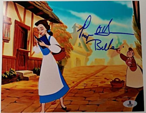 PAIGE O'HARA Signed 8x10 Photo #6 BEAUTY AND THE BEAST Gold w/ Beckett BAS Coa