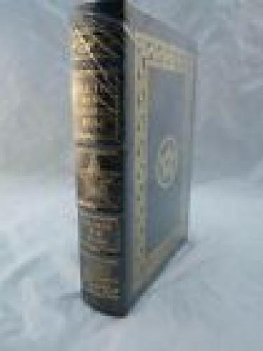 President George H W Bush Signed All The Best Easton Press Leather New