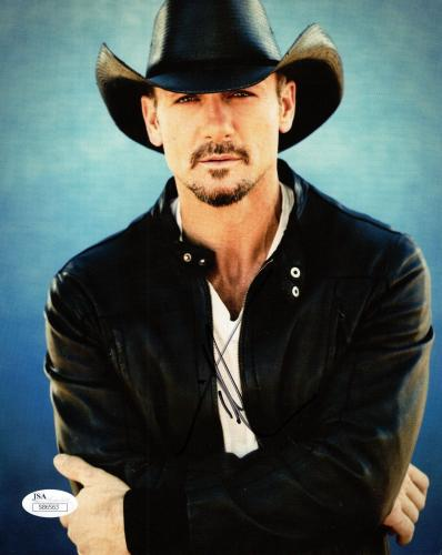 29b1c603206 Autographed Tim McGraw Memorabilia  Signed Photos   Other Items