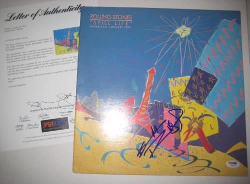KEITH RICHARDS (Rolling Stones) Signed STILL LIFE  Album w/ PSA LOA