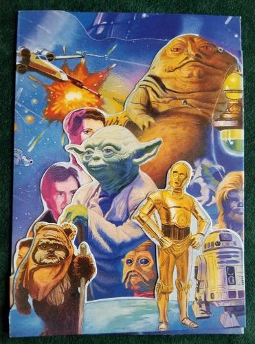 1992 Star Wars Birth Day Cards 12 Pack Lot Envelopes Included