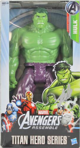 Stan Lee Marvel Signed The Hulk Titan Hero Series Action Figure PSA  #6A20984