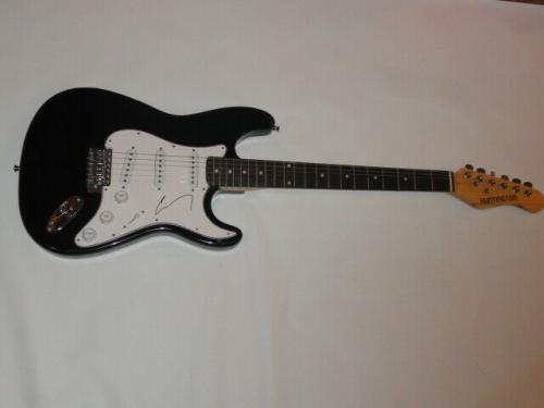 Corey Taylor Signed Electric Guitar Slipknot Stone Sour Proof Jsa Coa 1