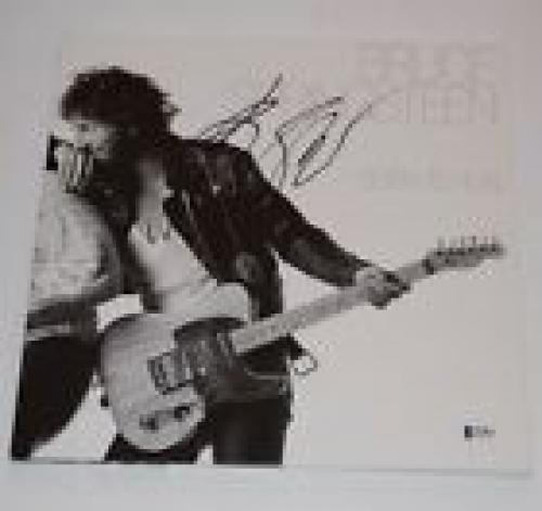 Bruce Springsteen Signed Autographed BORN TO RUN Vinyl Record Album BAS COA
