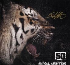 50 Cent Autographed Animal Ambition Album Flat UACC RD AFTAL