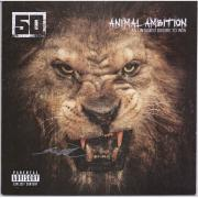 50 Cent Autographed Animal Ambition: An Untamed Desire To Win Album Cover - JSA