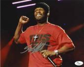 50 Cent Autographed Signed 8x10 Photo Certified Authentic JSA COA AFTAL