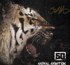 50 Cent Autographed Signed Animal Ambition LP Flat UACC RD AFTAL