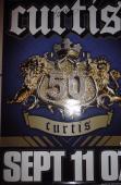 50 Cent Curtis Jackson Music Legend Signed Autograph 27x40 Lp Poster W/coa Rare