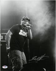 50 Cent Curtis Jackson Signed Authentic Autographed 11x14 Photo PSA/DNA #Z96350