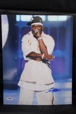50 Cent signed 11x14 autographed photo PSA AA91067