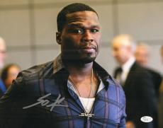 50 Cent Signed 11x14 Photo w/JSA COA P26476 Curtis Jackson Get Rich
