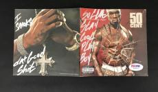 50 Cent Signed Auto Get Rich Or Die Tryin Cd  Psa Dna Coa