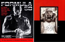 50 Cent Signed - Autographed Formula 50 Hardcover Book - Guaranteed to pass PSA or JSA