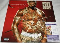 50 Cent Signed   Autographed Get Rich or Die Tryin Album   LP - JSA M66150