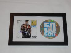 "50 Cent Signed Framed ""the Massacre"" Cd New Curtis Jackson Autographed Proof"