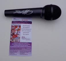 50 Cent Signed Microphone Jsa Coa R18332
