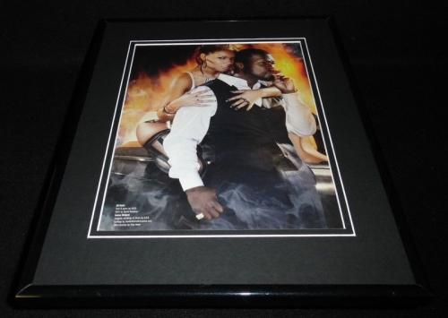 50 Cent Smoking & Leese Unique Lingerie Framed 11x14 Photo Display