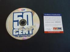 50 Cent The Massacre Autographed Signed CD PSA Certified