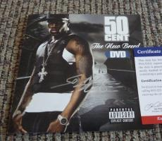 50 Cent The New Breed Autographed Signed CD Cover PSA Certified