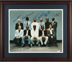 500 Home Run Club Multi-Signed 16'' x 20''Framed Photograph