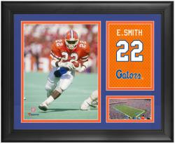 Emmit Smith Florida Gators 15'' x 17'' Campus Legend Collage - Mounted Memories