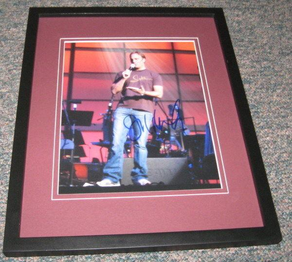 Jay Mohr Signed Framed 8x10 Photo Saturday Night Live SNL Ghost Whisperer D