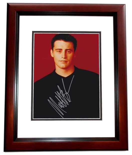 Matt leblanc autographed 8x10 friends photo mahogany for Leblanc custom homes