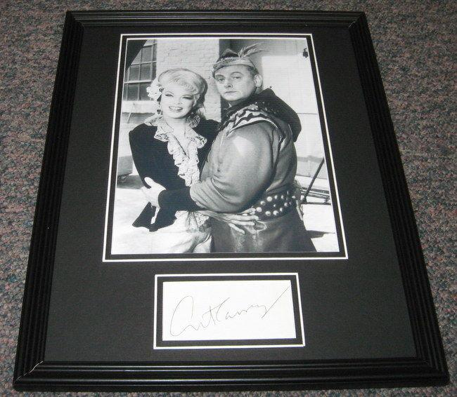 Signed Art Carney Picture - Framed 11x14 Display Batman The Archer