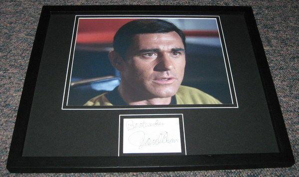 Paul Comi Signed Framed 11x14 Photo Display Star Trek