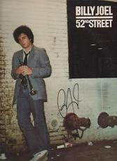 52nd STREET signed BILLY JOEL - my life - BIG SHOT - vinyl album