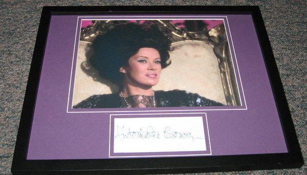 Antoinette Bower Signed Framed 11x14 Photo Display Star Trek