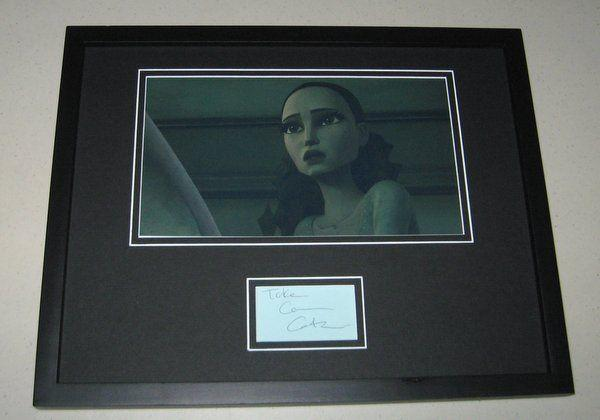 Catherine Taber Star Wars Signed Framed 11x14 Photo Display