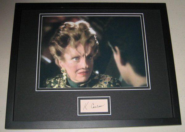 K Callan Star Trek Signed Framed 11x14 Photo Display